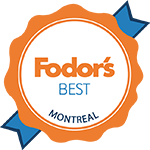 Fodors best montreal logo